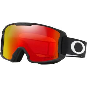 Oakley Line Miner goggles Kinderen rood/zwart